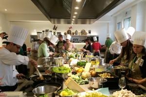 Cooking challenge Teambildung