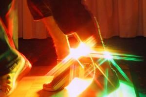Tanzen auf der Party, Weihnachtsfeier, Firmenevent oder ein anderer Anlass