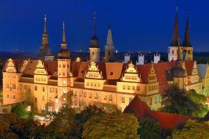 Dom zu Mersebrug bei Nacht | Best Western Hotel Halle-Merseburg