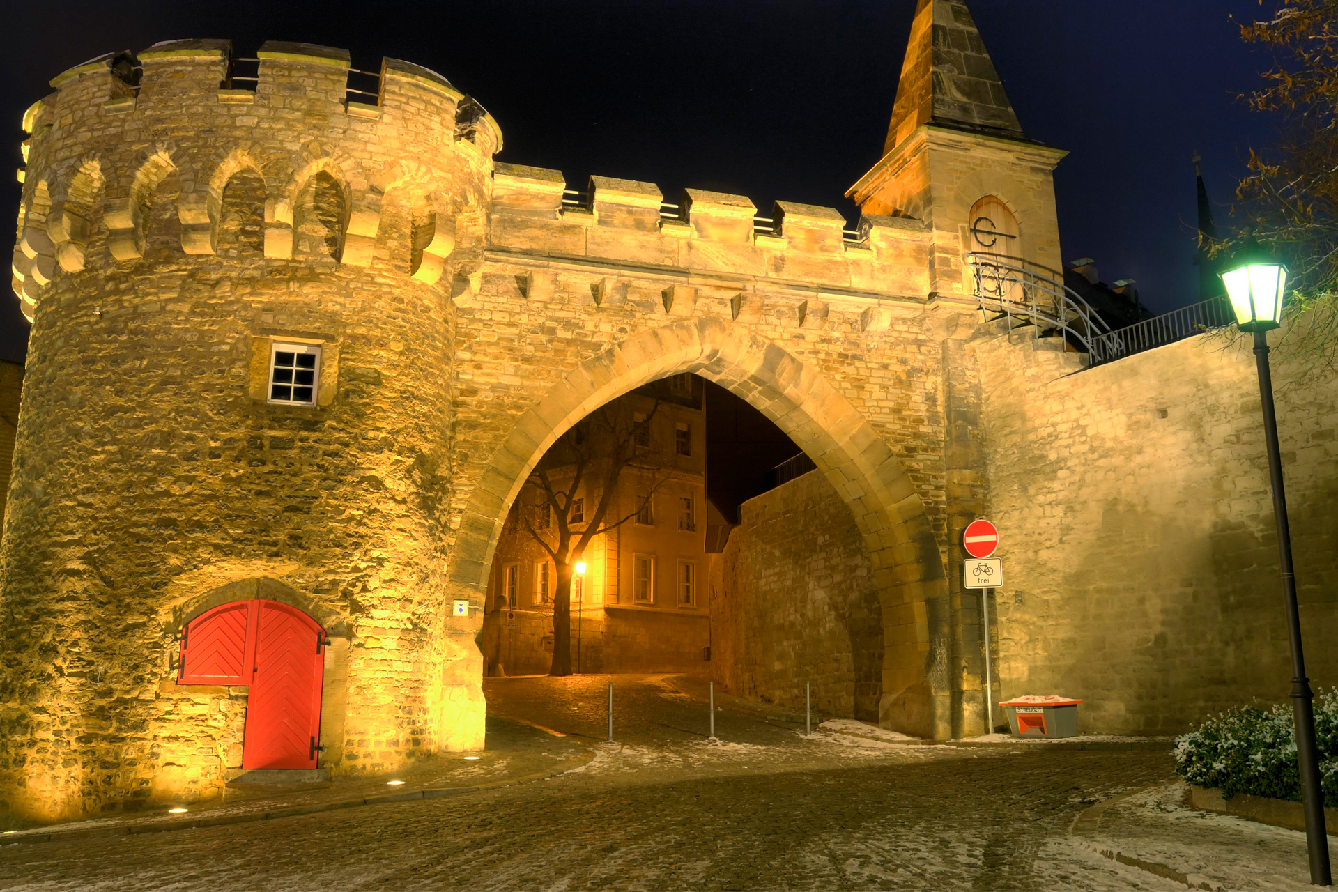 Krummes Tor in Merseburg © Wolfgang Kubak