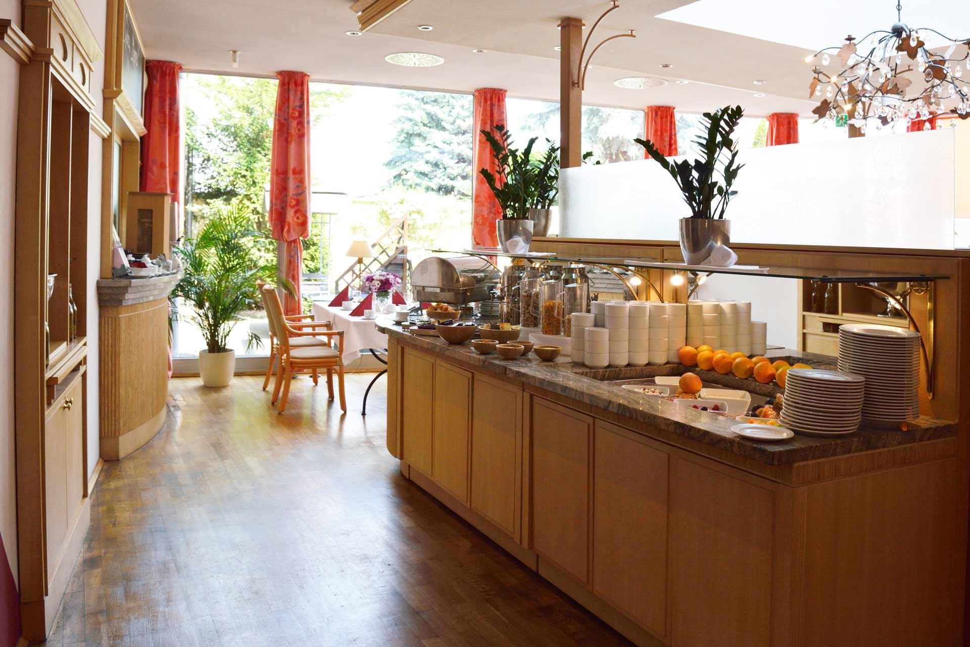 Frühstücksbuffet Best Western Hotel Halle-Merseburg