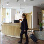 Rezeption Best Western Hotel Halle Merseburg